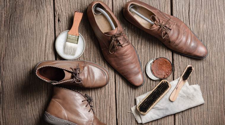 cleaning shoes as part of the history of shoes